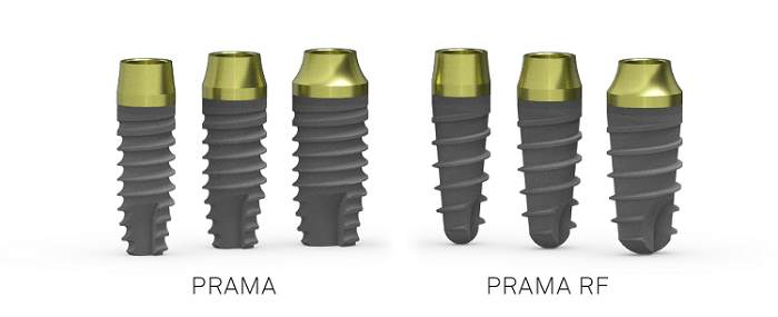 implants prama RF